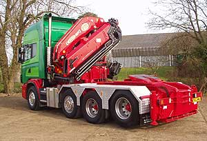 WD Jones crane lorry
