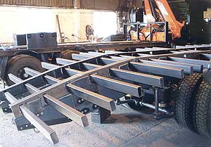 Low height chassis